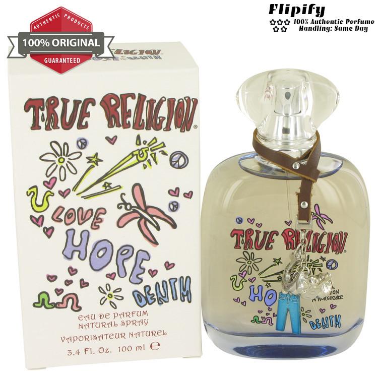 True Religion Love Hope Denim Perfume 3.4 oz 1.7 oz EDP ...
