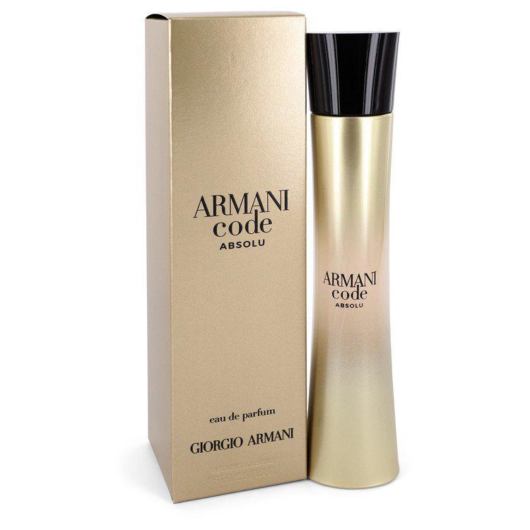 Armani Code Absolu Perfume 2.5 oz Edp Spray For Women by Giorgio Armani